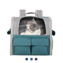 Pet Cat Carrier Backpack Cat bag Breathable Portable Pet Carrier Bag Outdoor Travel Backpack For Dogs Carrying Pet Supplies New