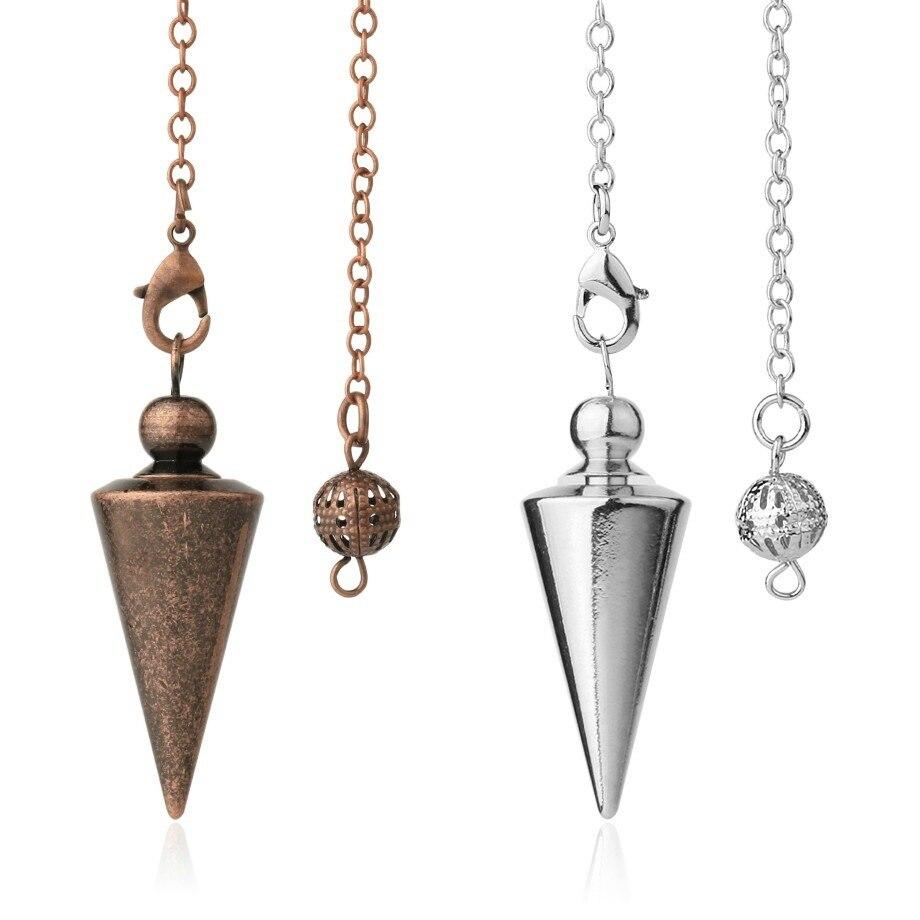 Новые конические Подвески с крестообразным маятником можно использовать в качестве ювелирных изделий оптом с бронзовыми украшениями с мет...