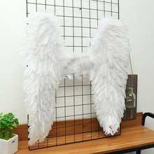 Новые Сексуальные крылья из перьев для косплея, крылья из перьев Виктории, очень большие белые крылья, вечерние машинки