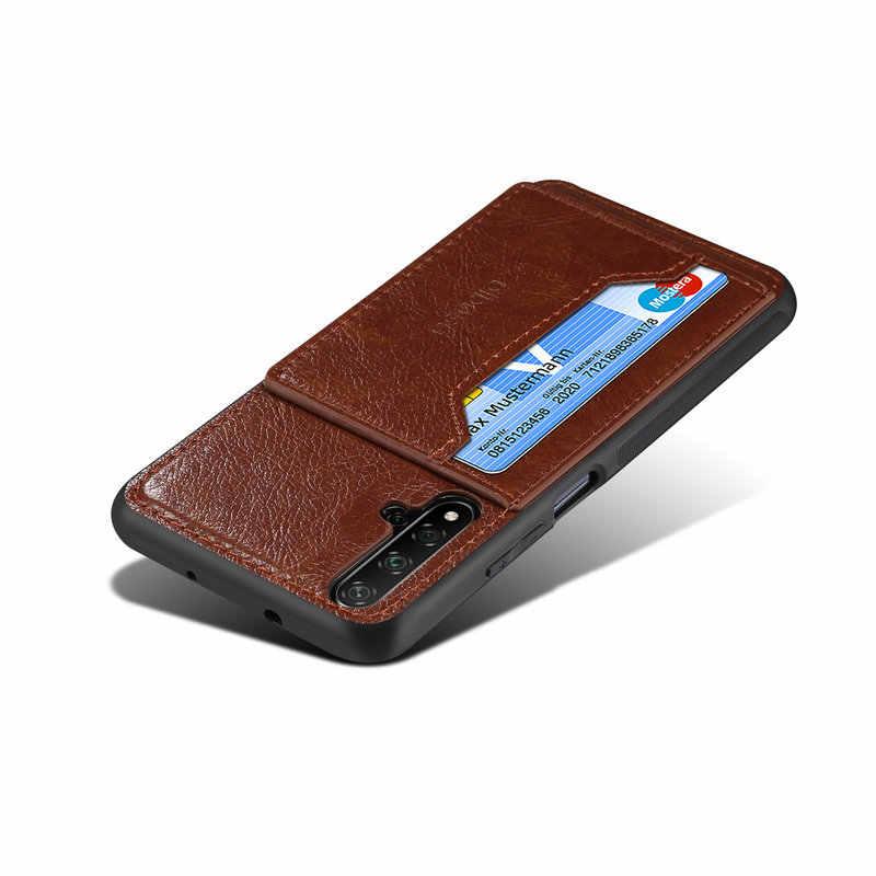 Nova5t Posteriore di Caso Huawei Nova 5 T Caso di Lusso di Cuoio DELL'UNITÀ di elaborazione TPU Del Respingente della pagina per Funda Huawei Nova 5t caso 5 T Nova 5 T Nova5 T 5 Pro