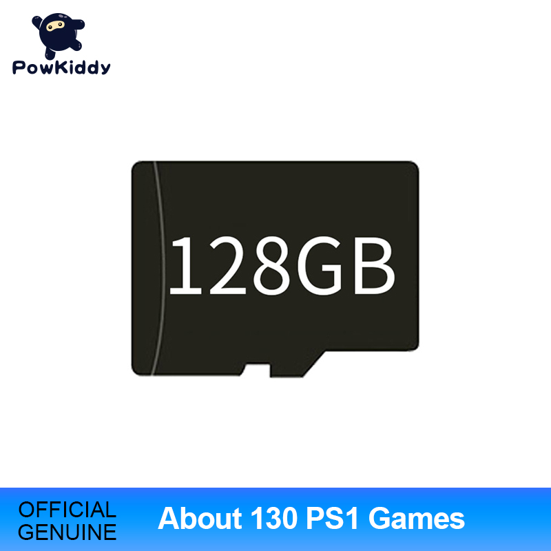 128GB Game Memory Card For RG350 RG350M Q80 Built-In 15000  English Games More Than 130 PS1 Games