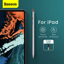 Baseus Capacitive Stylus Pen For Apple iPad Pencil Drawing Tablet Pens Active Screen Touch Pen For iPad Pro 2020 Air 3 Pen Tip