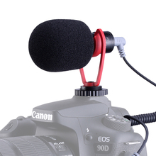 Sairen q1 comica CVM V30 na câmera de gravação microfone shotgun vídeo mic para iphone canon dslr vs rode videomicro
