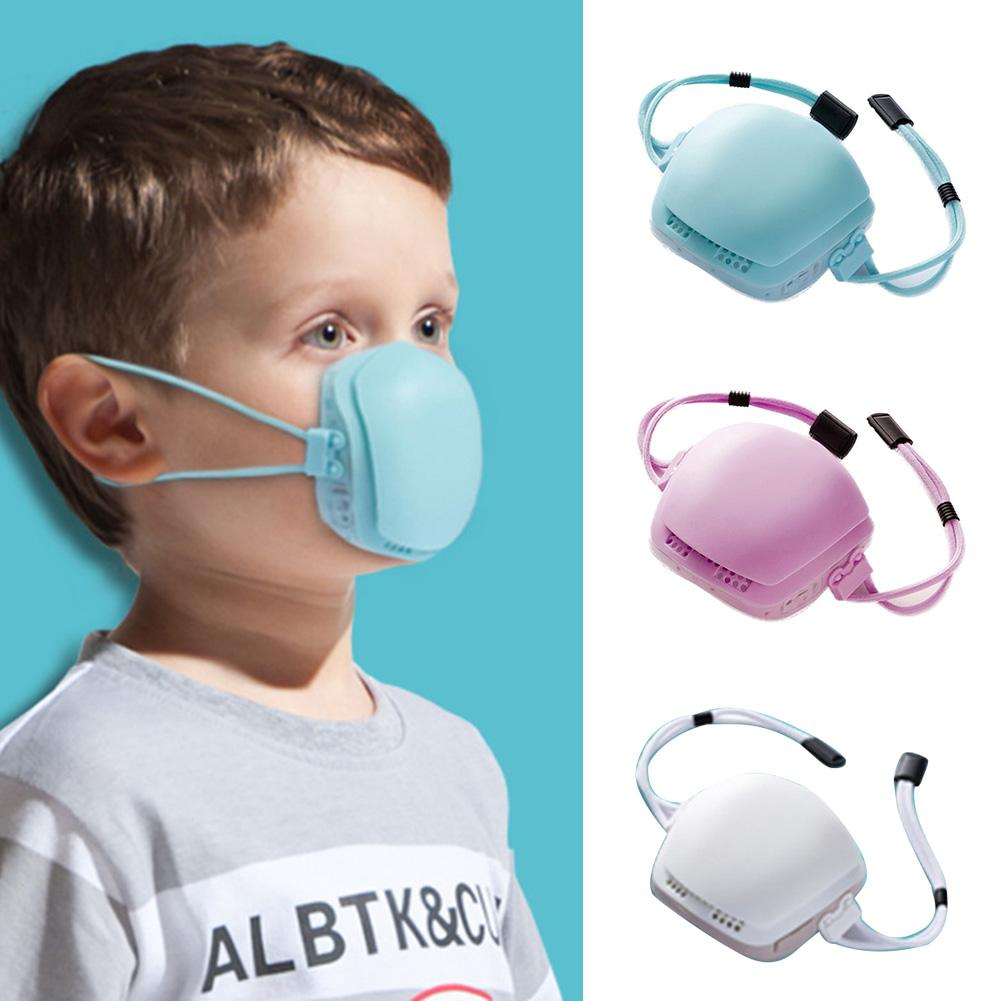 Kids Children Breathable Dustproof Anti Haze Protective Electric Mouth Face Mask Windproof, Dustproof And Anti-spitting