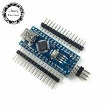 5 יח\חבילה ננו 3.0 בקר תואם לarduino nano CH340 USB נהג לא כבל ננו V3.0 עבור arduino
