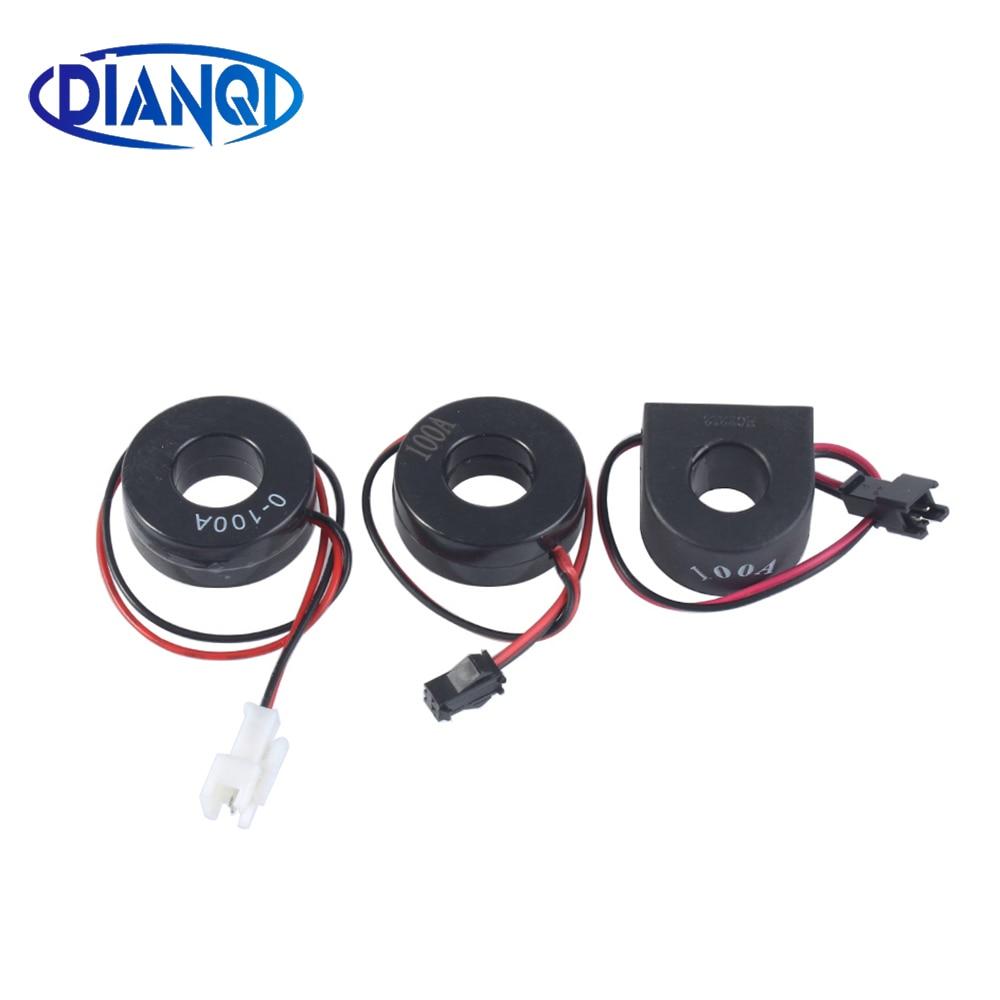 1 шт. трансформатор тока CT для амперметра измеритель тока 0-100A