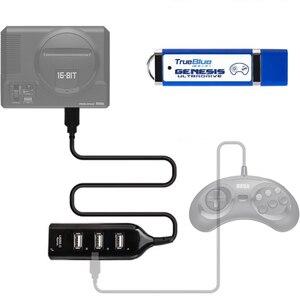 Image 2 - HOBBYINRC 813 Games True Blue Mini Ultradrive Pack for Genesis / for MegaDrive Mini 2019 New Arrival 2 player Games