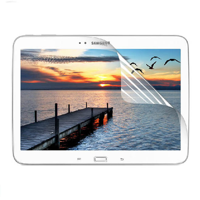 Clear Glossy LCD Screen Protector Protective Film For Samsung Galaxy Tab 3 Tab3 10.1 P5200 P5210