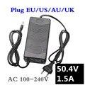 50.4V1.5A зарядное устройство 50 4 V 1.5A литий-ионное зарядное устройство для 12S литиевый аккумулятор