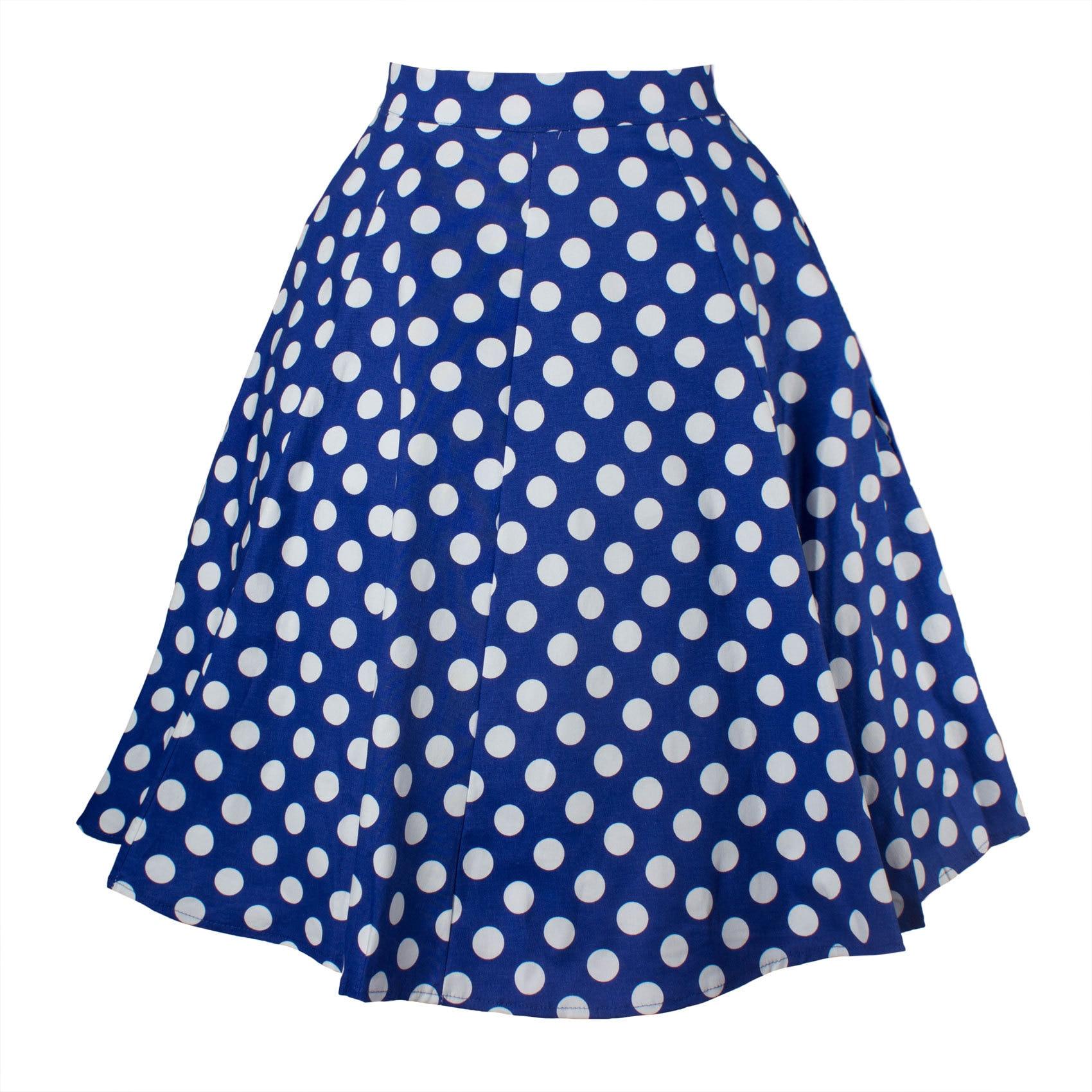 Daily Suit OWLPRINCESS  Women's 2020 Autumn Retro Polka Dot Skirt