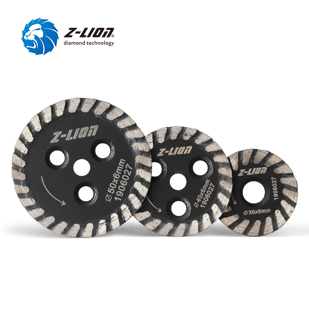 Z-LION 30/40/50mm Mini Diamond Carving Disc Hot Pressed Saw Blade Wet Use For Concrete Granite Marble Stone Engraving Cutting