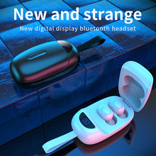 Wireless Earbuds Headphone Bluetooth BT5.0 Charging Box HiFi Stereo Waterproof Sports Game TWS Headsets Earphone With Microphone