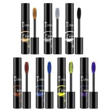 Curling Mascara Eyelashes Makeup-Tool Lengthening Gold Color Purple Black Blue 1pcs Fast-Dry