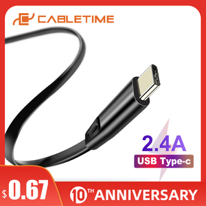 Cabletime USB C Cable for Oneplus Xiaomi USB Cable to Type C Fast Charge Cable for Huawei Mate30/20 P30/20 Nintendo C143