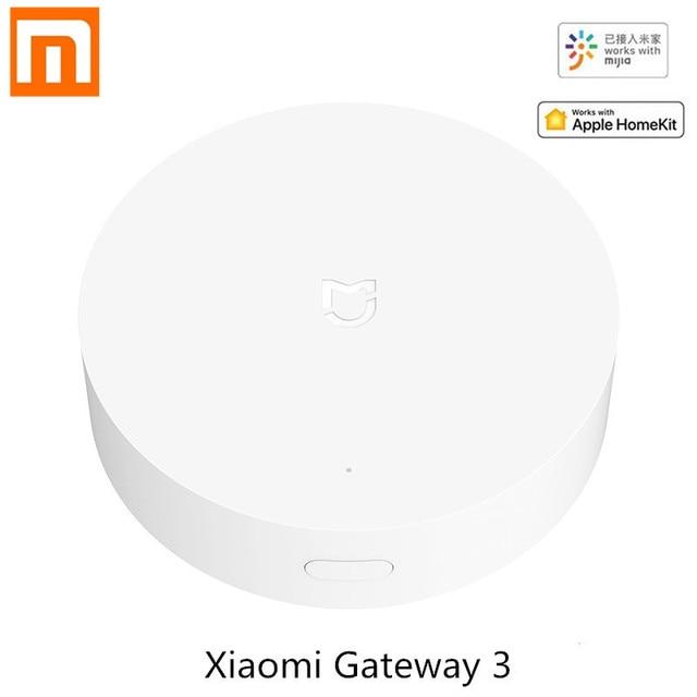 Xiaomi マルチモードスマートホームゲートウェイ ZigBee 無線 LAN Bluetooth メッシュハブ Mijia APP アップル Homekit で動作