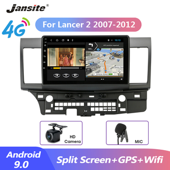 Jansite 10 Car Radio Android 9.0 For Mitsubishi Lancer 2 2007-2012 2 din android Multimidia Video Player Navigation GPS 2G+32G