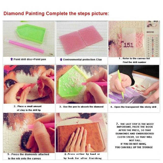 Купить diy 5d алмазная живопись цветок алмазная вышивка мозаика стразы картинки цена