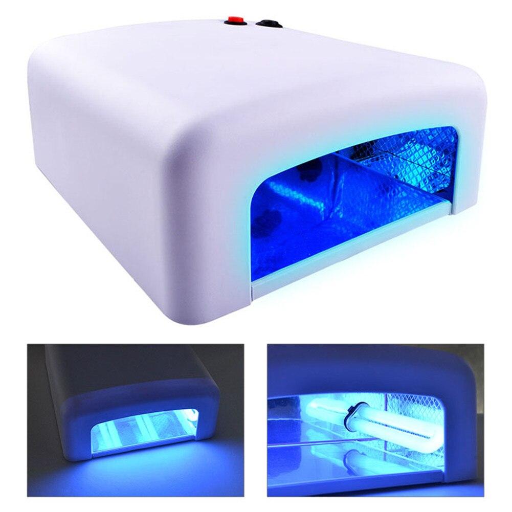 27W UV Lamp Nail Lamp For Drying Curing Gel Nail Polish Nail Art Manicure Tools 220V Nail Dryer Machine Professional Lamp