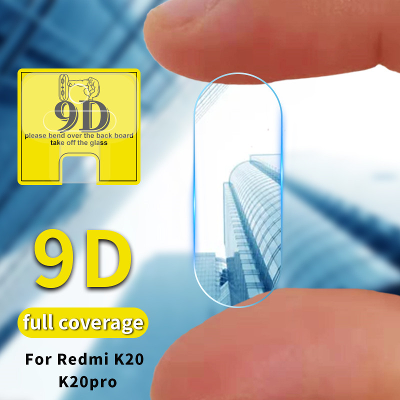For <font><b>Xiaomi</b></font> Redmi K20 / K20Pro Luxury 9D <font><b>Camera</b></font> Lens Protective Tempered Glass Case For <font><b>Mi</b></font> <font><b>9T</b></font> Mi9t Pro Screen <font><b>Protector</b></font> Film image
