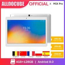 ALLDOCUBE – tablette de jeu M5X Pro, écran IPS de 10.1 pouces, MTK X27 Deca Core, 4 go de RAM, 128 go de ROM, Android 8.0, GPS, double WIFI