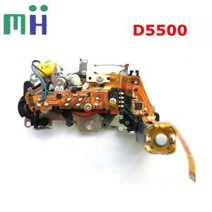 Image 1 - Em segunda mão para nikon d5500 unidade de motor de controle de abertura com motor diafragma grupo câmera peça de reposição de reposição
