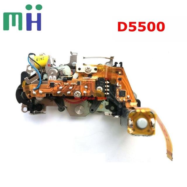 Em segunda mão para nikon d5500 unidade de motor de controle de abertura com motor diafragma grupo câmera peça de reposição de reposição
