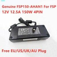 Genuino FSP FSP150-AHAN1 12V 12.5A 150W adaptador de CA para QNAP TS-412 NAS TS-410 DPS-150NB-1B portátil adaptador de cargador de fuente de alimentación