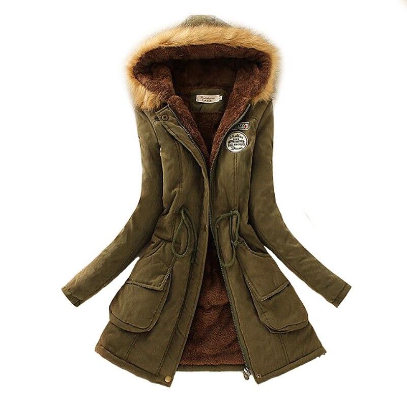 2019 Parka chaqueta de mujer abrigo de invierno para mujer cálido con capucha Parka chaqueta femenina abrigo largo Parkas 16 colores envío gratis Ropa de algodón para niñas, ropa de invierno para bebés recién nacidos, conjunto de 2 uds, ropa Unisex para niños