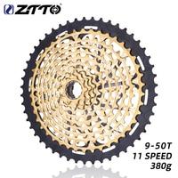 ZTTO MTB Golden 11 Speed XD Cassette Ultimate 9 50 Cassette Gold 380g ZTTO ULT Freewheel Ultralight 11s sprocket k7