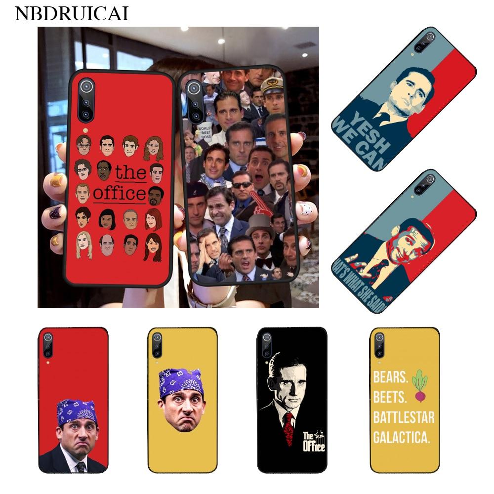 Nbdruicai Michael Scott Kantor Humor Lucu Tpu Lembut Silicone Ponsel Case Penutup untuk Xiaomi Mi9 9SE 8SE Pocophone F1 mi8 Lite