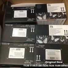 Оригинальная новая печатающая головка HP C1Q10A, печатающая головка для HP 711, T120, T520, HP 520, HP 525, HP 530, T530, T130, T125, T525, серии HP 120