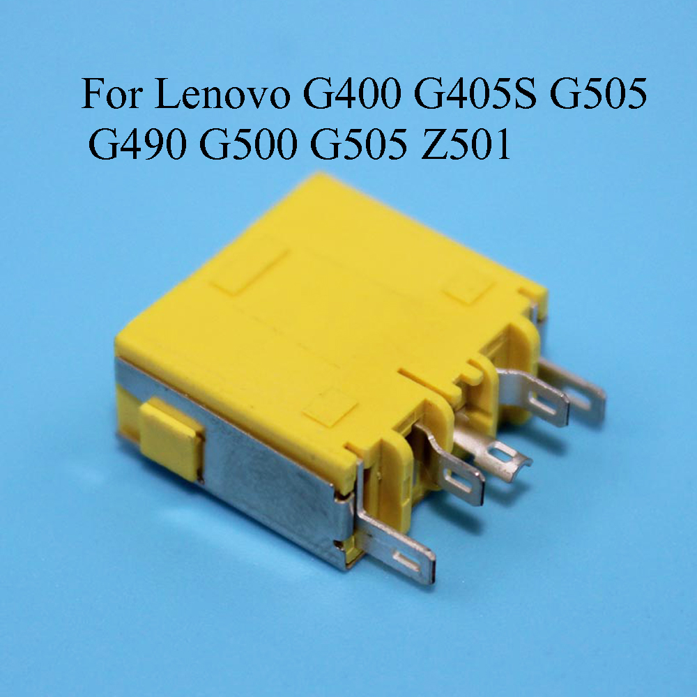 YuXi 1pcs NEW Laptop motherboard DC Power Jack connector For <font><b>Lenovo</b></font> G400 G405S G505 G490 <font><b>G500</b></font> G505 Z501 image