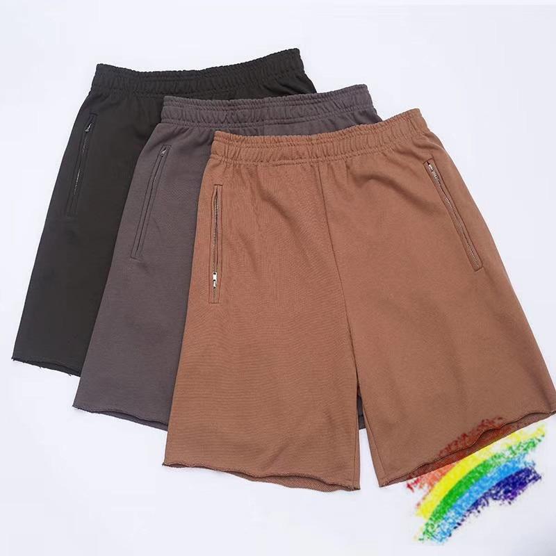 Kanye West Season 6 Shorts Men Women Top Quality Streetwear Beach Sportswear Shorts Mens