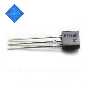 50 pçs/lote BT169D BT169 TO-Triacs Tiristor SCR 400V 9A 92 3-Pin SPT novo original Em Estoque