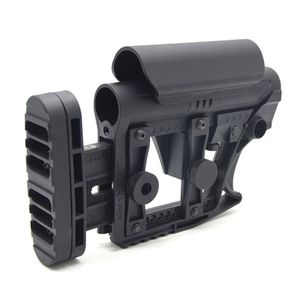 Image 3 - XPOWER LUTH MBA 3 STYLE STOCK Adjustable Extended For Air Guns CS Sports Paintball Airsoft Tactical BD556 Receivers Gearbox