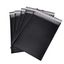 20 Pcs Bubble Film Envelope Bag Black Padded Gift Packaging Bag Anti-squeeze envelope Courier Bag Bubble Wrap Packaging Bag