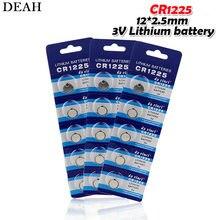 15pc 3v bateria de botão lítio cr1225 1225 br1225 lm1225 kcr1225 ee6220 para controle remoto brinquedo relógio calculadora escala eletrônica