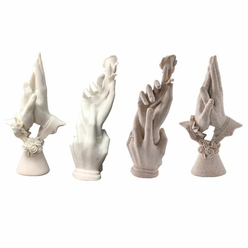 Ручной работы статуэтки Свадебные украшения юбилейные сувениры статуэтки Творческие подарки для жены девушки домашний декор