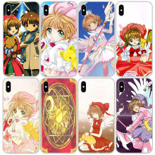 Cardcaptor Sakura Anime Silikon Lembut TPU Case PENUTUP UNTUK iPhone 11 Pro XS Max X XR 8 7 6S plus 5S SE 4S Silicon Case Cover(China)