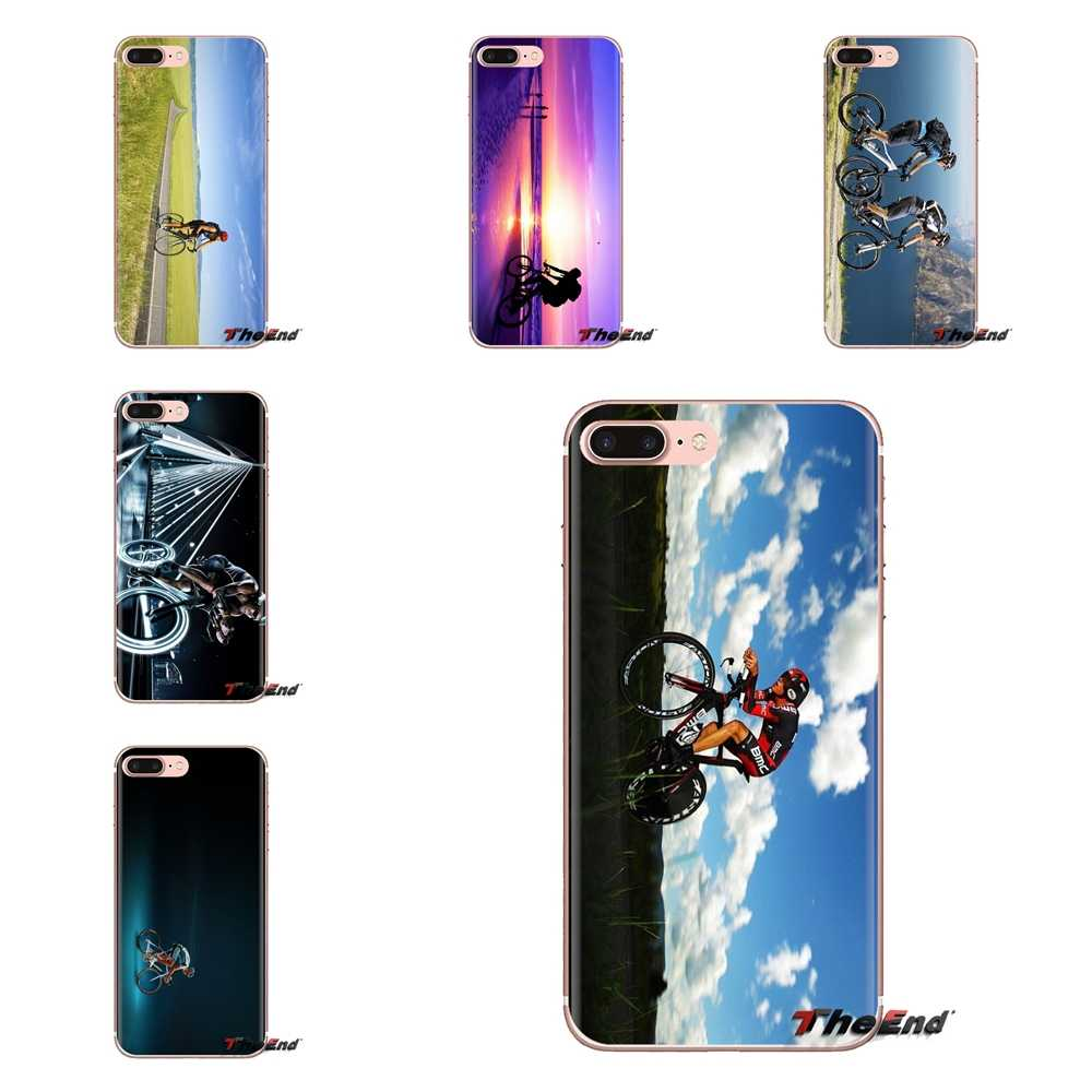 For Sony Xperia Z Z1 Z2 Z3 Z5 compact M2 M4 M5 E3 T3 XA Aqua LG G4 G5 G3 G2 Mini TPU Silicone Case Road Biking Cycling Wallpaper