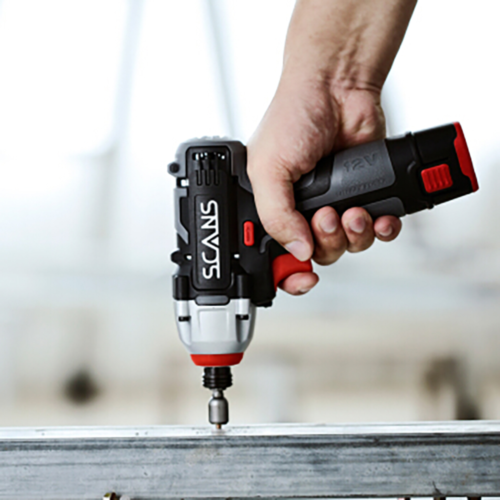 12V Impact Lithium Impact Cordless Driver Screwdriver SCANS Tool Power Professional   SC2121