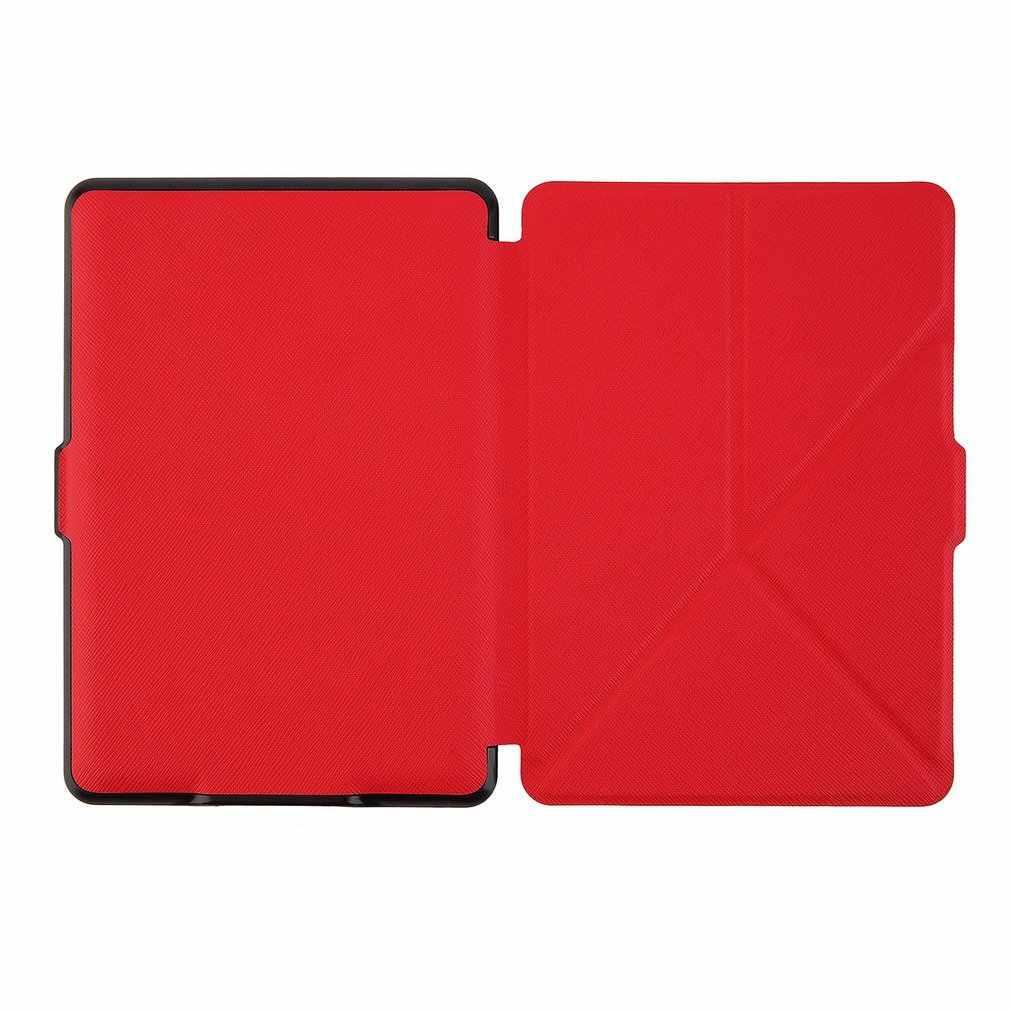 Inteligentne etui przypadku odporny na kurz ultra cienki przenośne etui magnetyczne dla Kindle Paperwhite obudowa z podstawką