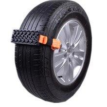 Chaîne de roue antidérapante pour pneu dautomobile, accessoire de style Automobile, neige, glace, outils antidérapants de route