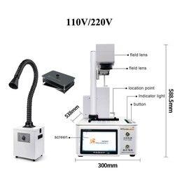 Novo m-triangel diy impressora cnc corte a laser para iphone 11 xs xsmax x removedor de vidro traseiro lcd quadro reparação laser máquina separada