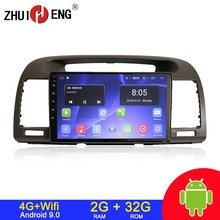 Autoradio Android 9.1, 2 go/32 go, wifi, 4G, dvd, audio stéréo, 2 din, pour voiture Toyota Camry (2002 2006)