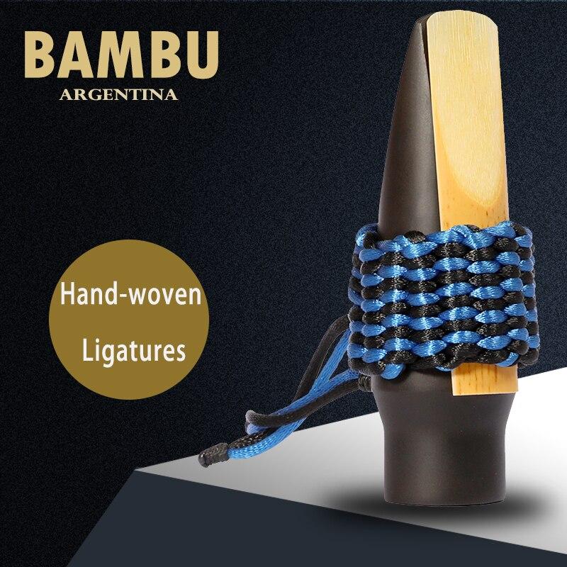 Argentina Bambu Hand-woven  Ligatures Clarinet Sax Mouthpiece Hand-woven  Ligatures