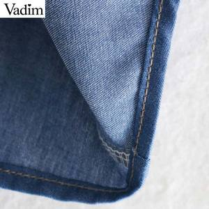 Image 4 - Vadim 女性甘いレースパッチワークブラウス長袖フリルかわいいシャツ女性のカジュアルなプリーツシックなトップス blusas LB726