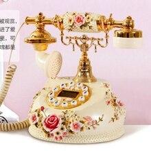 Teléfono antiguo vintage de estilo europeo de moda de Metal teléfono fijo ha1920