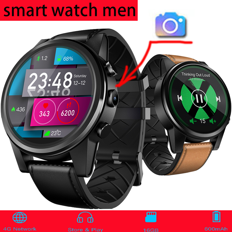 Zeblaze Vibe 3 Pro 5 Thor 4 Smart Watch Men Smartwatch 4G 1.6 Inch Camera GPS Heart Rate Monitor Pedometer SIM Answer Dial Call