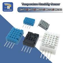 Dht22 am2302 dht11 am2322 am2320 digital temperatura umidade sensor placa do módulo para arduino ultra-baixa potência de alta precisão